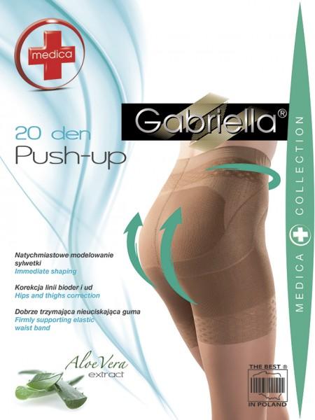 Gabriella - Bum tvarování punčocháče Push Up, 20 DEN