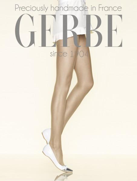 Gerbe - Sheer mat punčochové kalhoty bez elastan Mousse Altesse 20 DEN