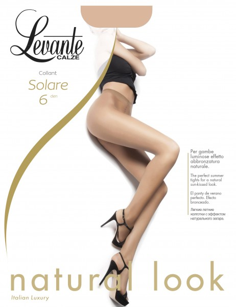 Levante - Ultra sheer summer tights Solare 6 DEN