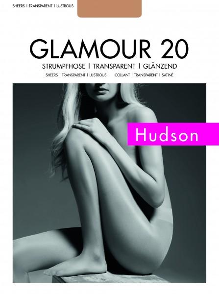 Hudson - Sheer, lesklé punčocháče Glamour 20