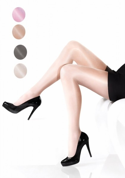 Marilyn - Sheer glossy tights Nudoshine 20 den