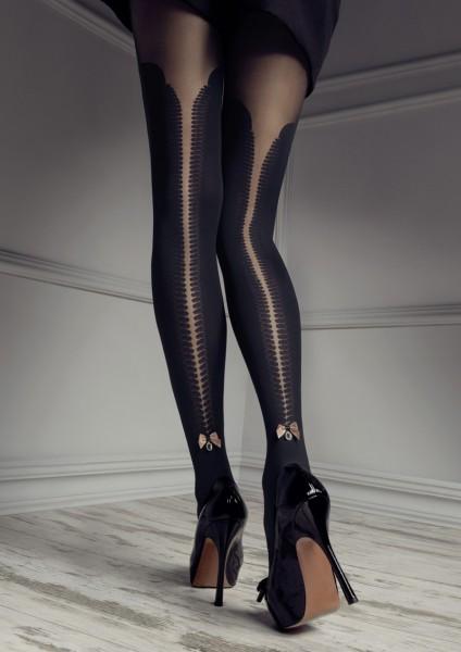 Patrizia Gucci pro Marilyn falešný nad kolena punčochových kalhot s krajkou nahoru