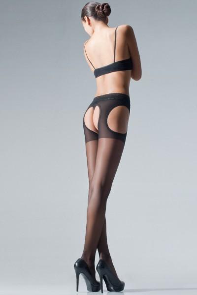 Cecilia de Rafael - Sheer pruh kalhotky s krásnou krajkou nahoře Chariss