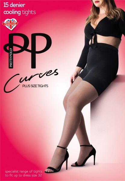 Pretty Polly Curves 15 denier Cooling Tights