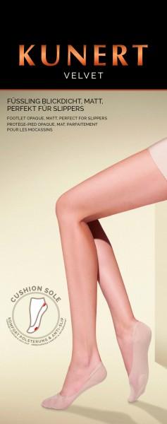 Kunert Velvet - Classic shoe liner without elastane