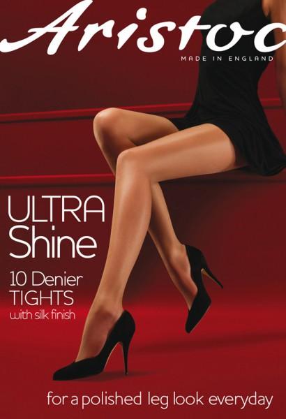 Aristoc - Ultra Shine 10 denier punčochové kalhoty s hedvábím povrchovou úpravou