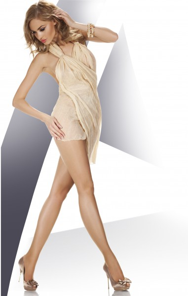 Annes Nebbia - 8 denier summer tights with sandal toe